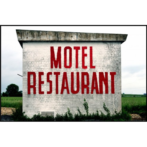 Motel Restaurant (grand format Fine Art)